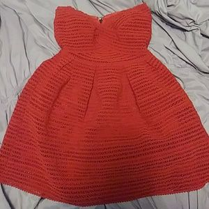 Forever 21 Red Sweetheart Dress size Medium